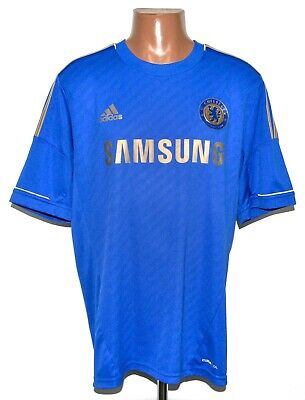 Chelsea London 2012/2013 Home Football Shirt Jersey Adidas Size Xl Adult • 44.99£