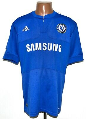 Chelsea London 2009/2010 Home Football Shirt Jersey Adidas Size L Adult • 37.99£