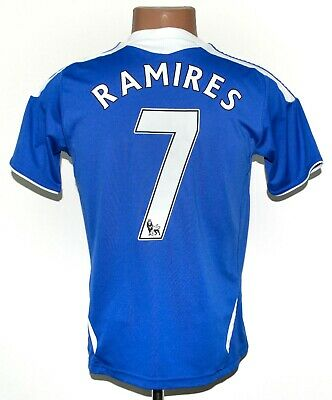 Chelsea London 2011/2012 Home Football Shirt Jersey #7 Ramires Adidas Yl Boys • 19.99£