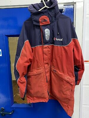 Gill Cruise Jacket Size Large With SunSail Branding Sailing Yacht Waterproof • 45£
