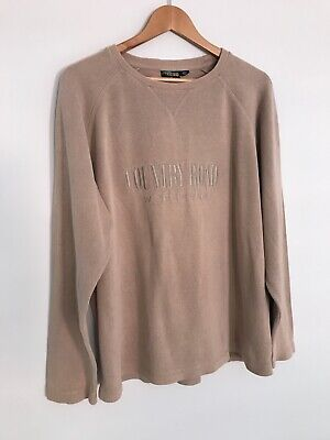 AU35 • Buy Country Road Workwear Vintage Pullover Ribbed Sweater / Size Medium / Cotton