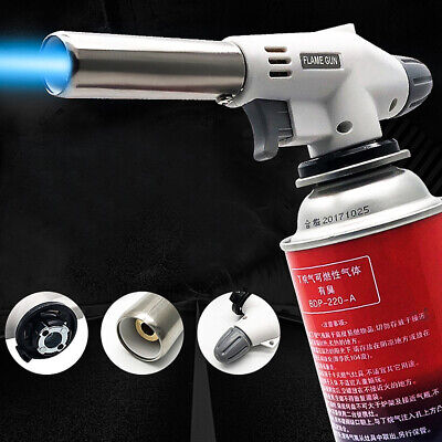 £5.39 • Buy Refillable Blow Torch Butane Lighter Culinary Butane Chef Cooking Torch New