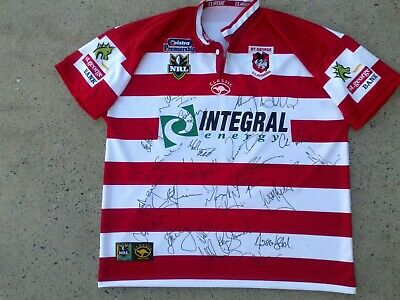 AU205.99 • Buy SIGNED 2003 St George Illawarra Dragons NRL Rugby League Jersey