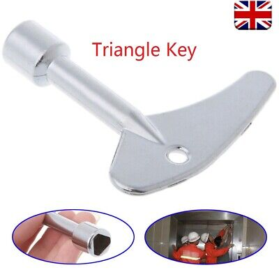 Key Wrench Triangle Plumber For Electric Cabinet Train Elevator Emergency Lift • 3.49£