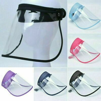 £8 • Buy Face Shield Full Face Visor Protection Mask PPE Shield Clear Plastic Transparent