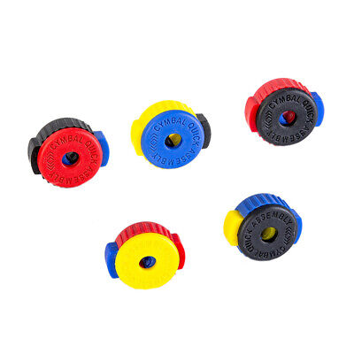5 Pack Quick-Set Cymbal Mate Quick Release Drum Accessories Kit Rondom W0R8 • 5.83£