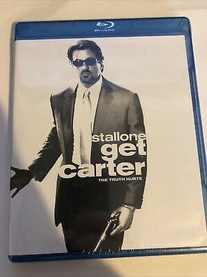 Get Carter Blu-Ray NEW SEALED Sylvester Stallone Rachael Leigh Cook Mickey Rourk • 16.93£