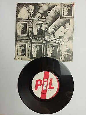 PiL ‎– Memories 7 Vinyl Single. Public Image Limited / Sex Pistols John Lydon  • 4£