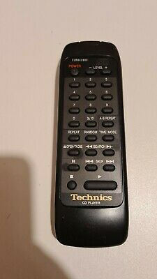 Technics CD Player Remote Control - EUR643900 - Tested Working • 19.99£