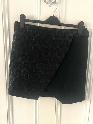 Topshop Boutique Wrap Over Skirt Proenza Style Skirt 12 • 5£