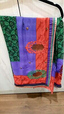 Women Ladies Indian/Pakistani Bollywood Party/wedding Wear Designer Saree Sari  • 3.99£