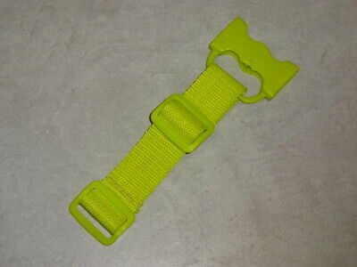 ICandy Peach - CROTCH HARNESS STRAP Buckle Clip Clamp In Lime Green Sweet Pea • 9.99£