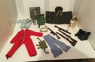 $ CDN13.98 • Buy 12 Inch Vintage GI Joe Action Man Huge Lot Of Outfits Accessories