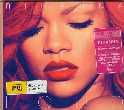 AU7.45 • Buy RIHANNA Loud CD & DVD Deluxe Edition - Australian Pressing