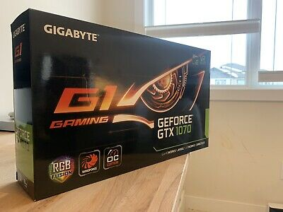 $ CDN325 • Buy GIGABYTE GeForce GTX 1070 8GB GV-N1070G1 GAMING-8GD Used