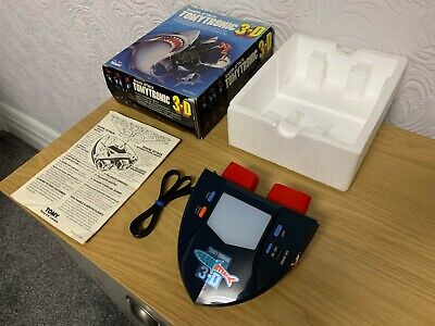 Awesome Boxed Tomytronic 3D Shark Attack Vintage 1983 Electronic Game - Mint ! • 185£