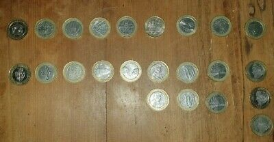 Two Pound Coin Collection Job Lot Rare £2 Pound Coins X 23 Bulk Bargain • 46£