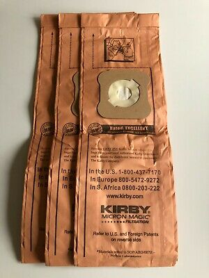 3 Kirby Filter Bags For G4 & G5 Models • 5£
