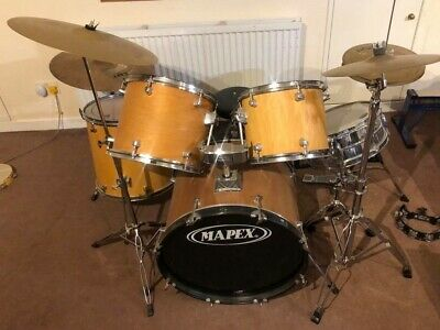 Mapex  Complete Drum Set / Kit With Cymbals & Accessories  • 169£