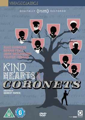 Kind Hearts And Coronets - Digitally Restored (80 Years Of Ealing) [DVD] [1949], • 3.74£