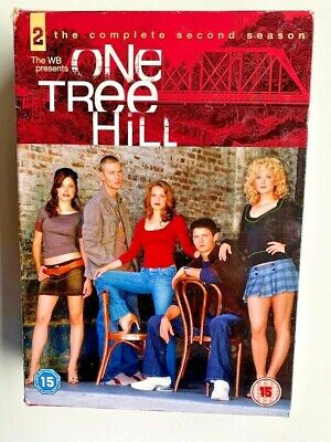 One Tree Hill: The Complete Second Season DVD (2006) Chad Michael Murray Cert 15 • 4.99£