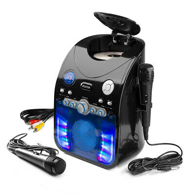 £76.99 • Buy SBS20B Karaoke Machine TV System With 2 Microphones Bluetooth & Party Light Show