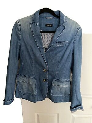 AU35 • Buy Massimo Dutti Denim  Jacket Size L I Would Say A Size 10