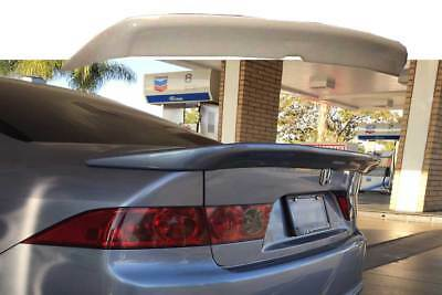 $149.49 • Buy Mugen Style Trunk Spoiler For 2004-08 Acura TSX USA CL7 CL9 Unpainted Plastic