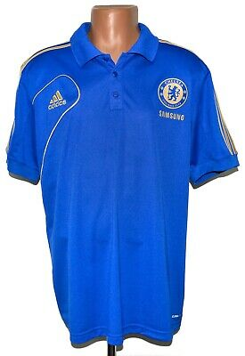 Chelsea 2012/2013 Training Football Polo Shirt Jersey Adidas Size Xl • 29.99£