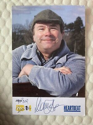 Heartbeat David Lonsdale As David Stockwell Hand Signed Cast Card Original • 2.75£