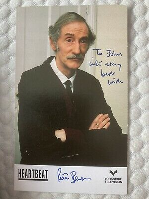 Heartbeat Hand Signed Cast Card Peter Benson As Bernie Scripps Mint Rare • 2.75£