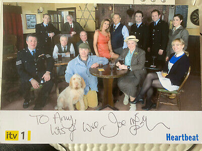 Heartbeat Hand Signed Cast Card Joe McFadden As Joe Mason 7x5 Rare Mint • 2.75£
