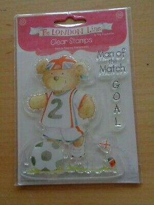 NEW & SEALED- Helz Cuppleditch -Clear Stamps -The London Line - Man Of The Match • 1.75£
