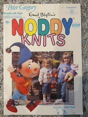 Peter Gregory Noddy Knits Toys/Sweaters Knitting Pattern  • 8.99£
