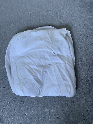White Ikea Large Single Fitted Bed Sheet Used Good Condition  • 2.50£