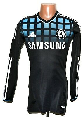 Chelsea 2011/2012 Away Football Shirt Jersey Player Issue Techfit Size M (6) • 134.99£