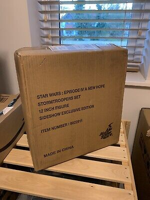 Hot Toys Star Wars Stormtroopers Action Figures MMS268 Sideshow Exclusive • 185£