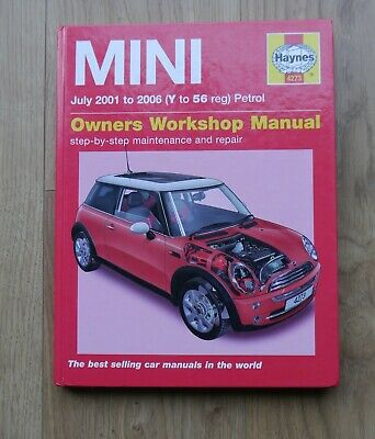 Haynes Service And Repair Manual (Hardback)  Mini Petrol July 2001 - 2006 • 8£