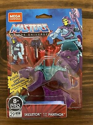 $23 • Buy Mega Construx Masters Of The Universe Skeletor Panthor Flocked Walmart Exclusive
