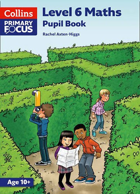 Collins Primary Focus Maths - Level 6 Maths: Pupil Book, Very Good Condition Boo • 8.77£