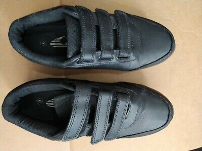 Boys Black School Shoes Size 6 Used • 7.99£