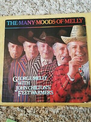George Melly - The Many Moods Of Melly - 12  Vinyl LP Album • 2.79£