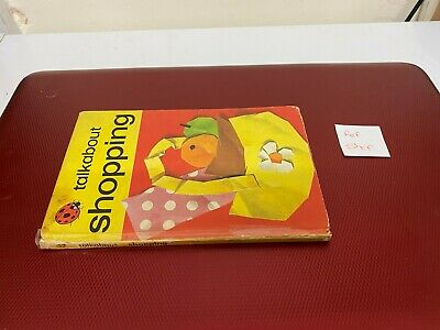 Talkabout Shopping Ladybird Book Series 735 • 5.99£