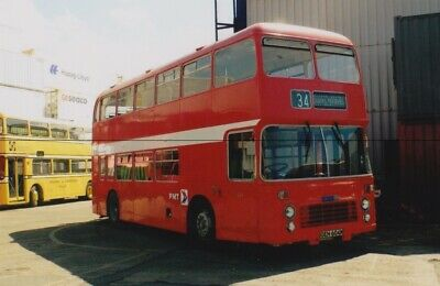 Bus Photo Photograph, Stoke Potteries Motor Traction Picture, Bristol Vr Oeh604m • 0.35£