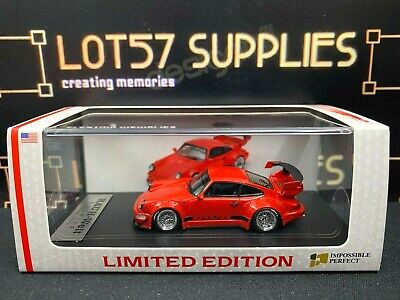 $ CDN63.37 • Buy Impossible Perfect IP 1:64 Porsche RWB 964 Limited Edition USA RED 1 Of 300 Pcs
