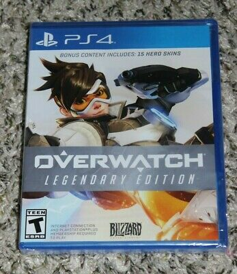 AU24.94 • Buy PS4 Game ~ NEW ~ Overwatch Legendary Edition