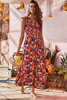 AU169 • Buy BNWOT 'Abbie' Dress By Mister Zimi In Oasis Print, Size 6 (large Fit)