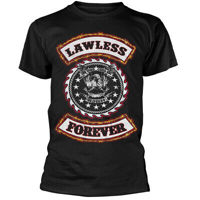 £17.44 • Buy WASP Lawless Forever Shirt S M L XL XXL Tshirt Heavy Metal Band T-Shirt Official