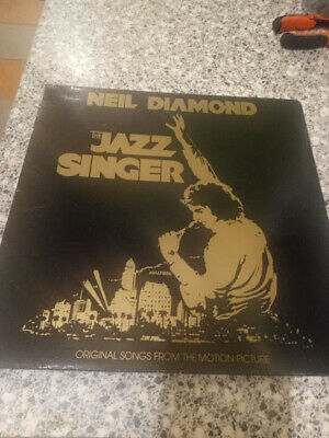 Neil Diamond The Jazz Singer 12  Gatefold Vinyl LP Capitol East 12120 1980 • 2.99£