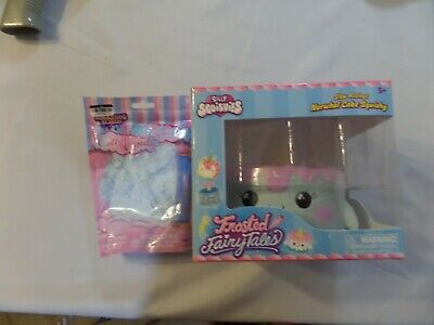 AU20.72 • Buy New Genuine Silly Squishies Narwhal Cake And Amazing Slime Cotton Candy